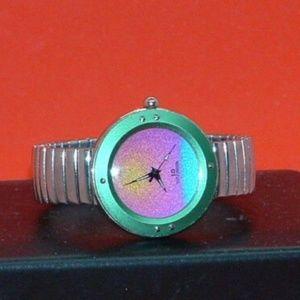 Pre Owned I.D. Titanium Analog Quartz Watch